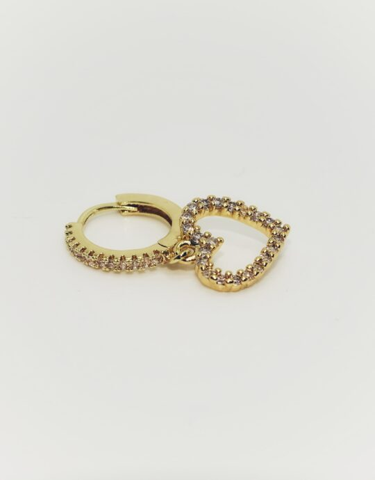 Piercing Corazón Oro